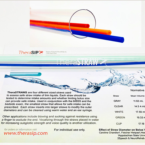 TheraSIP Swallowing Disorder Treatment straw-replacement , ResistSTRAWS 2021-06-01 15:37:33